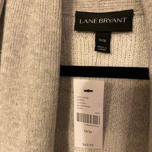 Lane Bryant Sweaters - Lane Bryant Buffalo Plaid Open Front Vest NWT